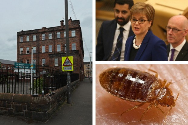 Nicola Sturgeon 'not at fault' for school bedbug problem, readers say