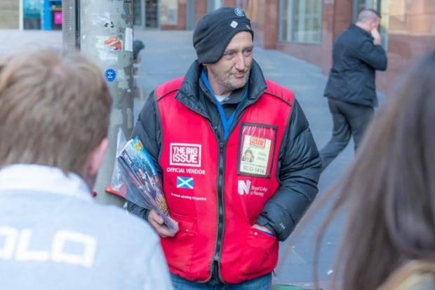 The Big Issue pay tribute to Paul Kelly after death in Knightswood