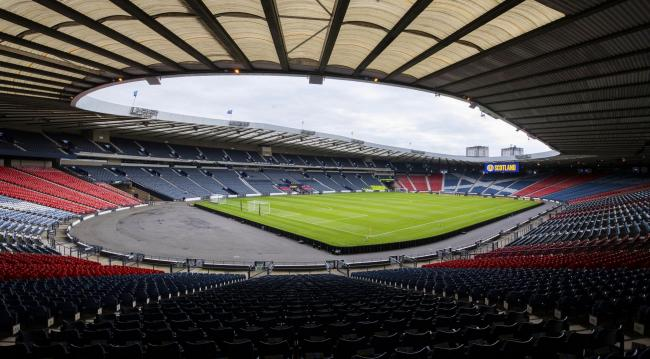 08/06/19 UEFA EUROPEAN CHAMPIONSHIP 2020 QUALIFYING ROUND.SCOTLAND v CYPRUS (2-1).HAMPDEN PARK - GLASGOW.A general view of Hampden Park, prior to Scotland's match against Cyprus.