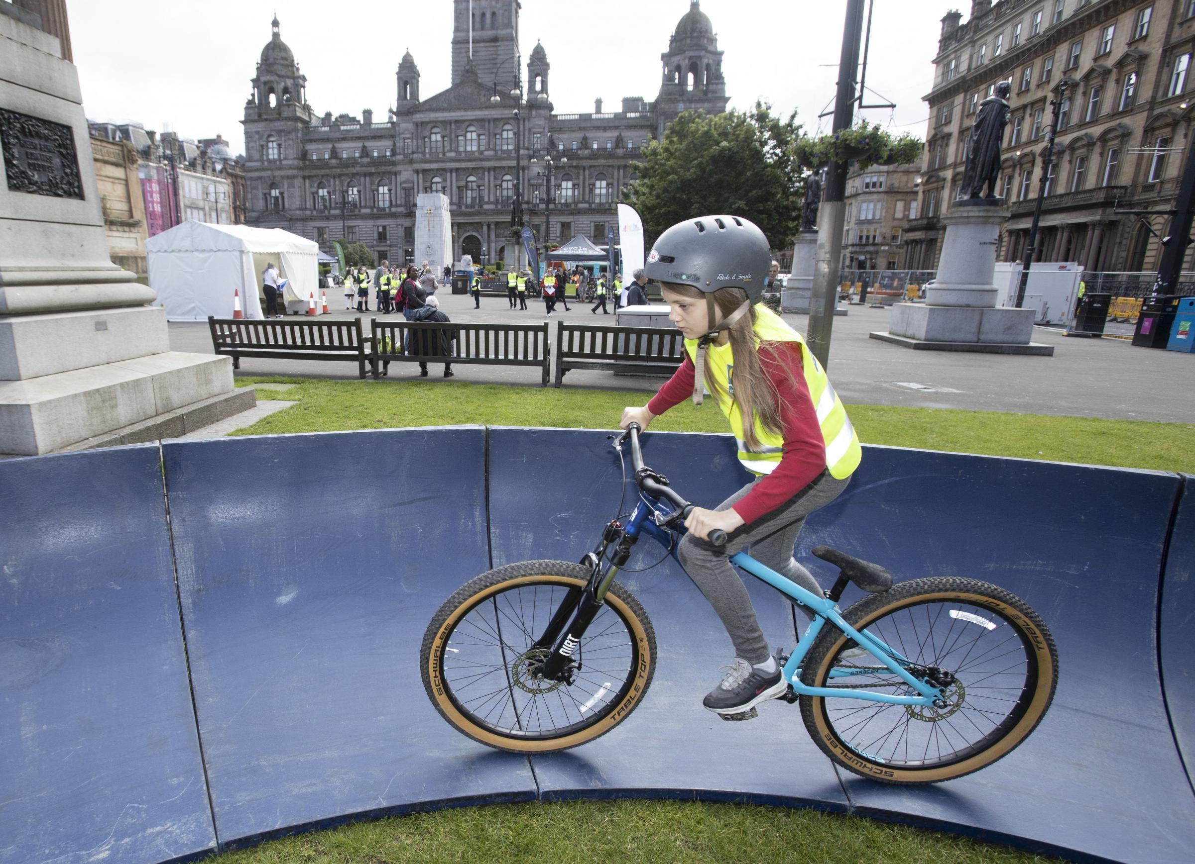 Glasgow School children get behind campaign for clean air