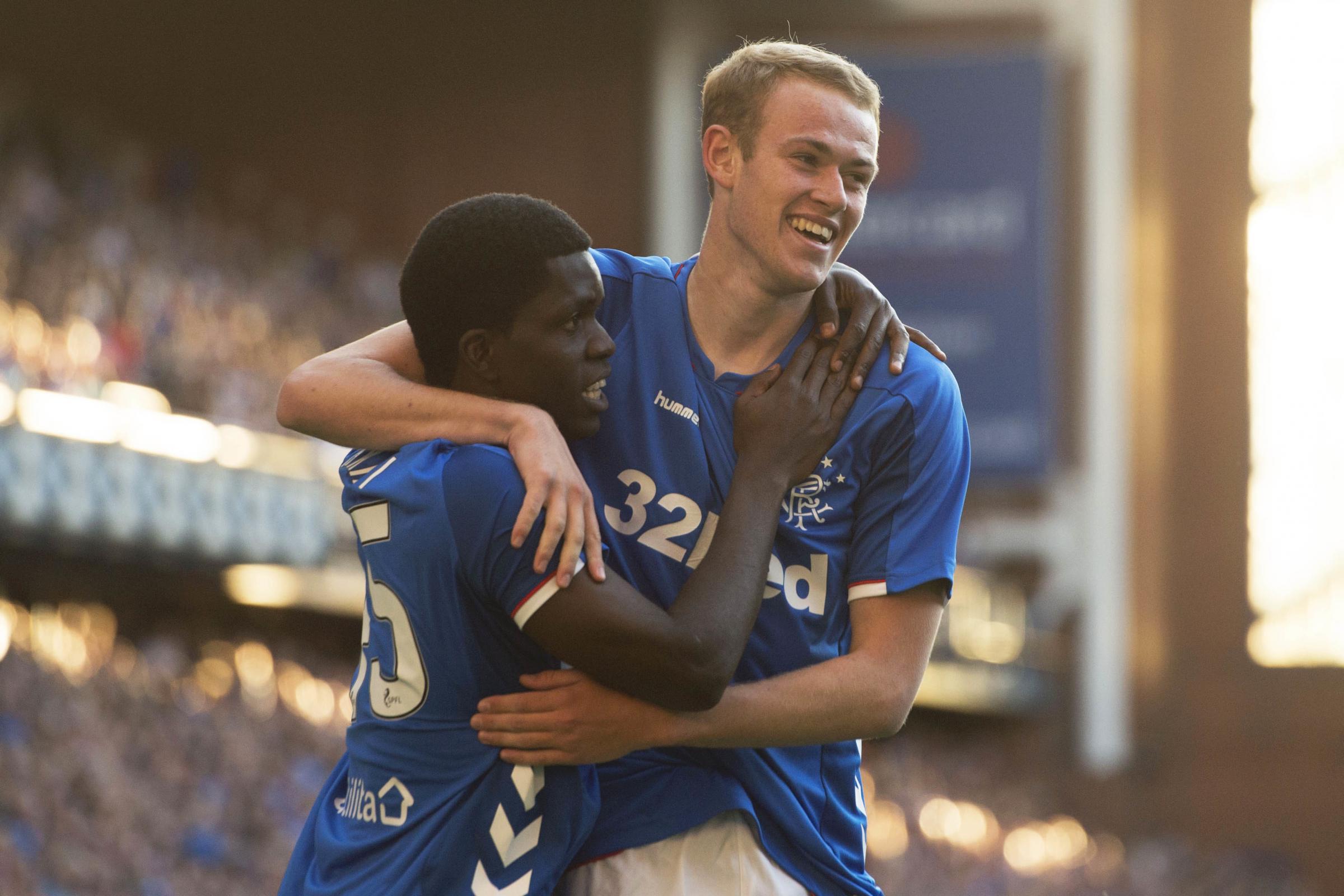 Rangers striker Zak Rudden signs new Ibrox deal