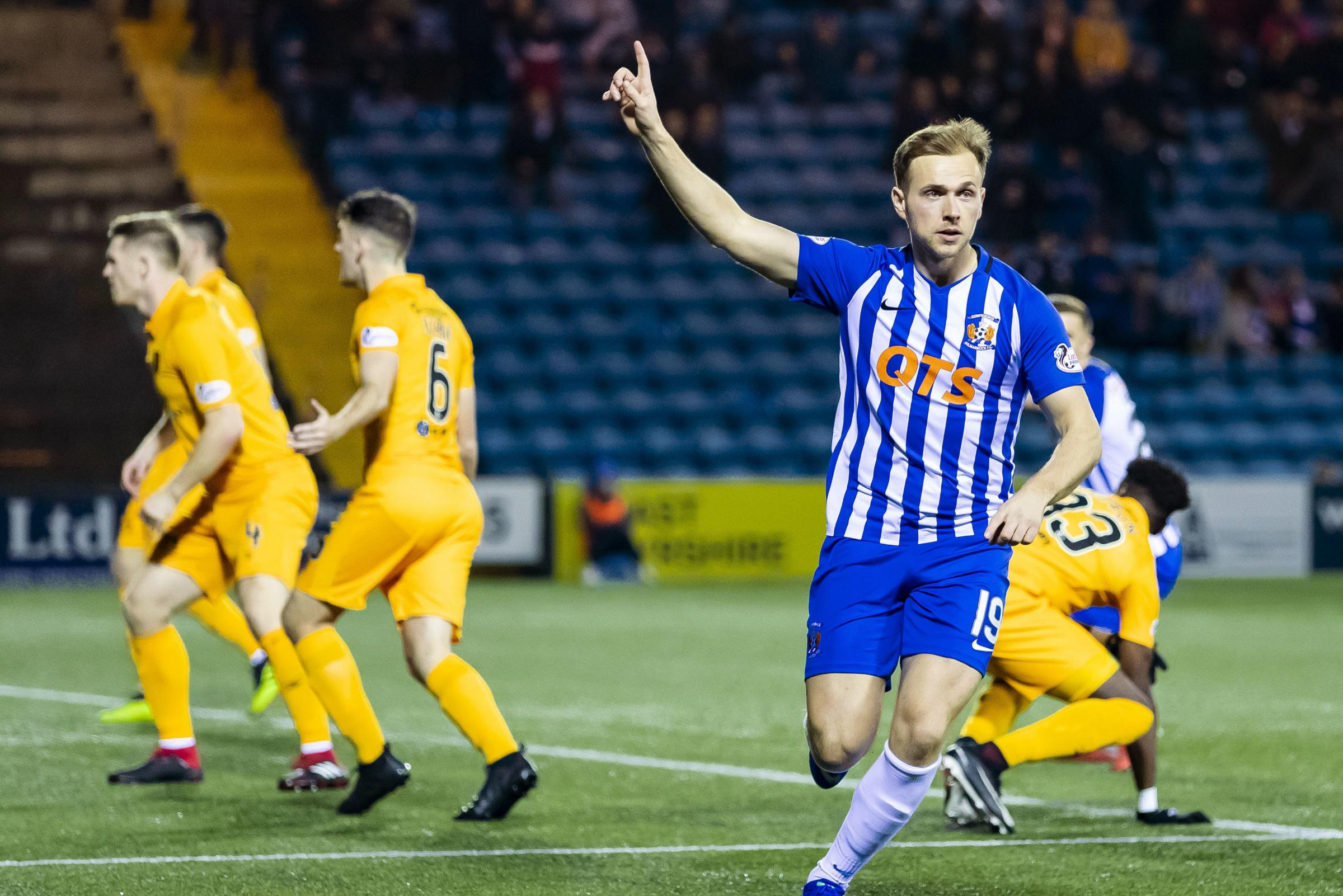Rangers striker Greg Stewart hopes he gets a warm welcome from Kilmarnock fans on his Rugby Park return