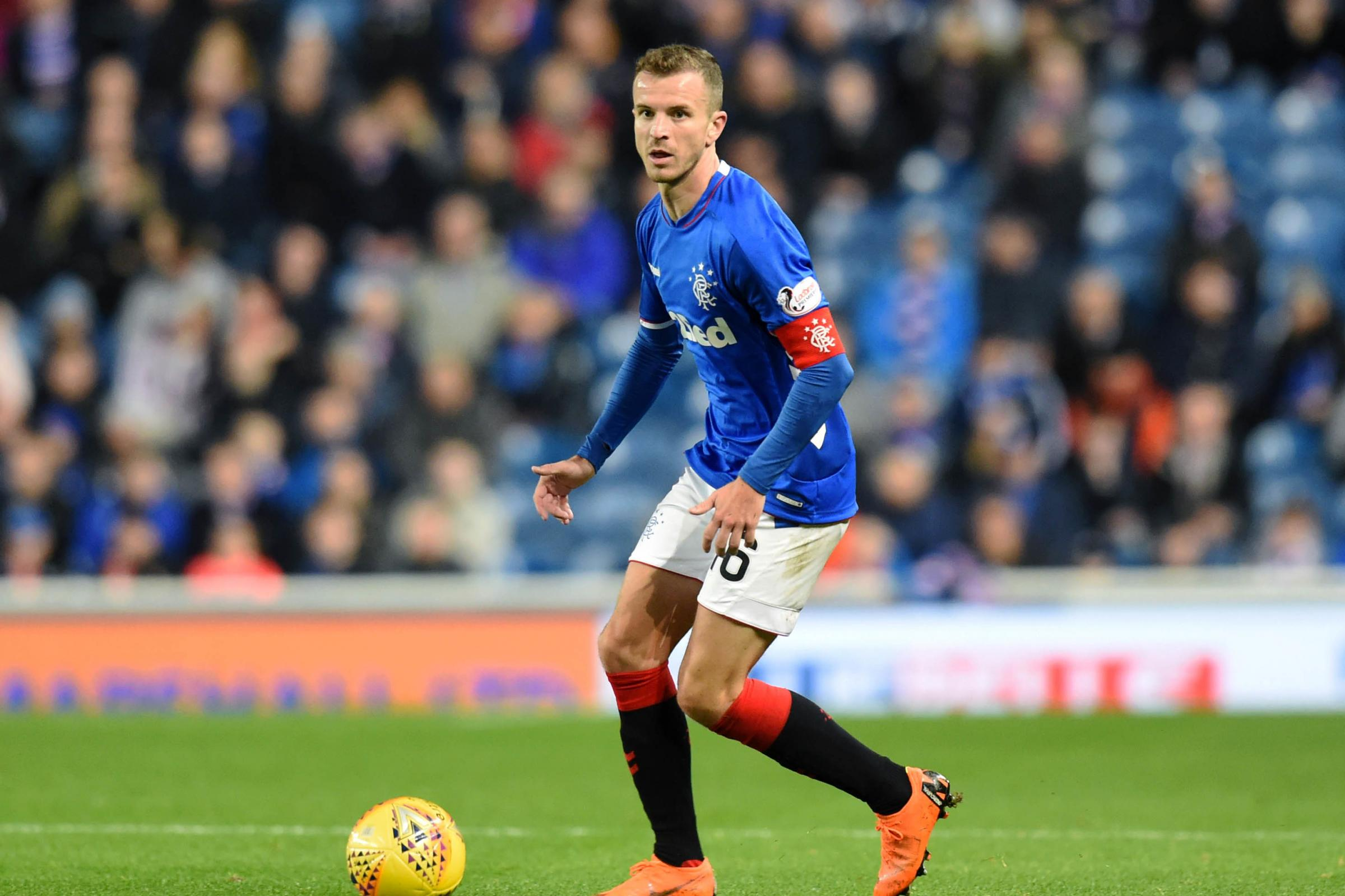 Andy Halliday urges Rangers kids to grab their chance to impress in Portugal