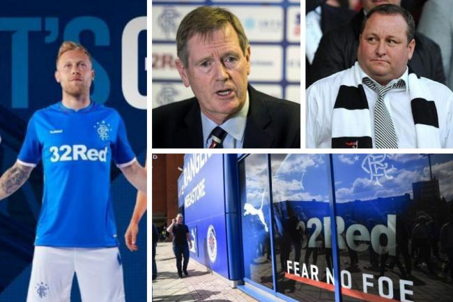 Rangers challenge after losing latest round in merchandise fight with Mike Ashley