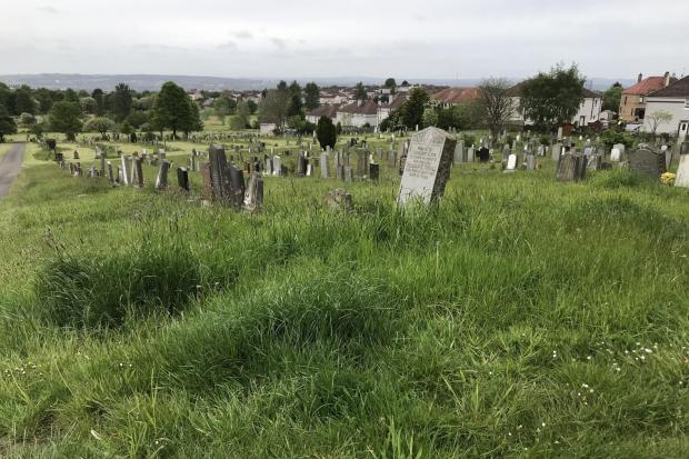 Pictures of Riddrie Park Cemetery from Martin McElroy..