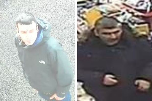 Police appeal to find men after Kilmarnock Road theft