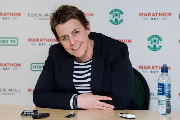 Evening Times: Leeann Dempster threatened action following disorder at Easter Road.