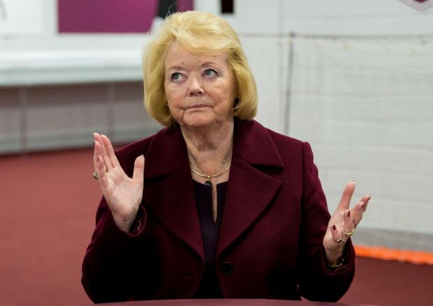 Evening Times: Yousaf hailed the firm stance taken against an upsurge in hooliganism and bigotry in stadiums by Hearts owner Ann Budge and Hibernian chief executive Leeann Dempster.
