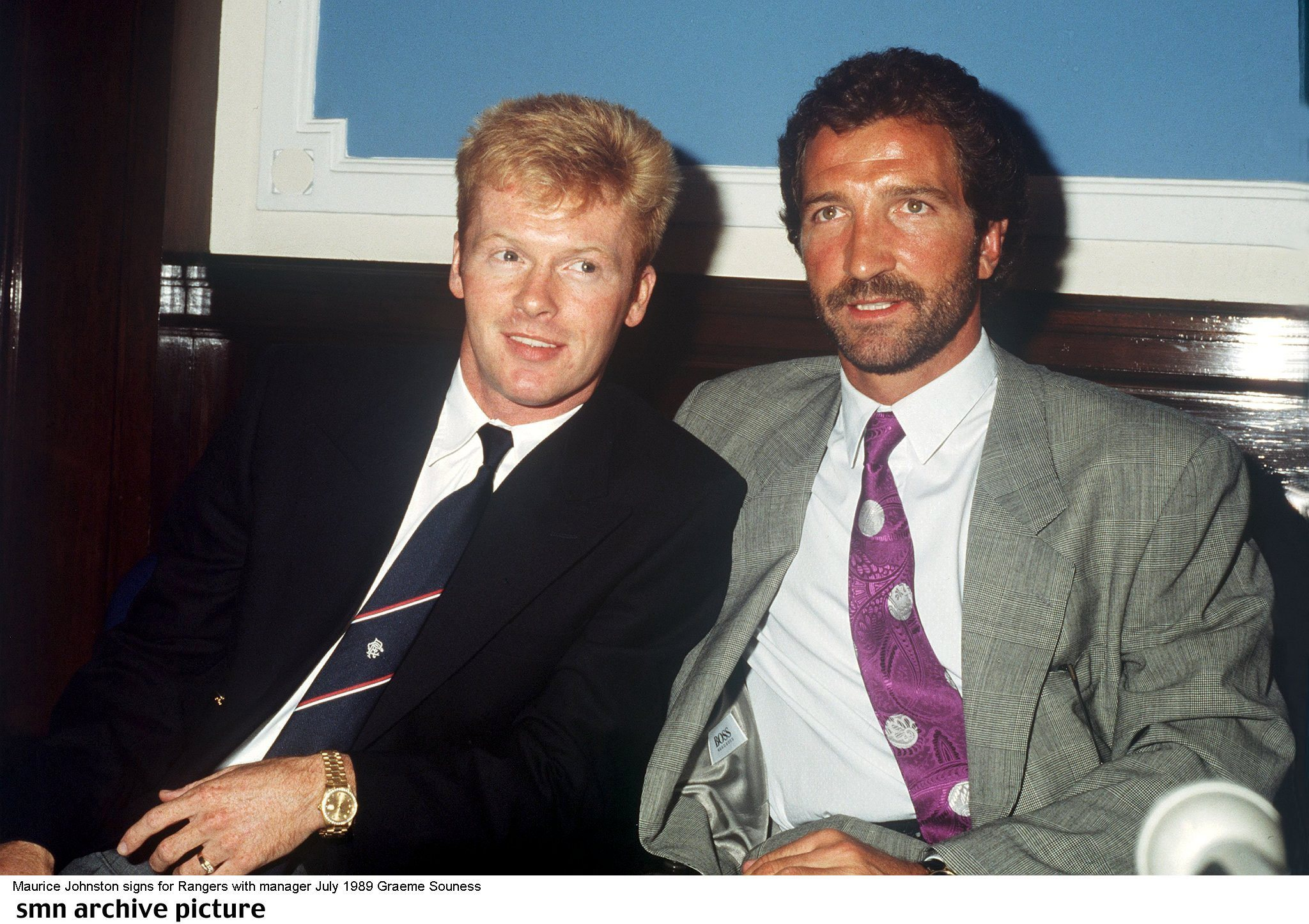 Ian Durrant reflects on Mo Johnston's move to Rangers 30 years on