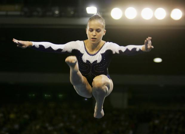 319f760bc43a She achieved gold in the team and floor exercises, silver on the beam and  bronze in the all-round event and was lauded as one of the top Aussie  athletes in ...