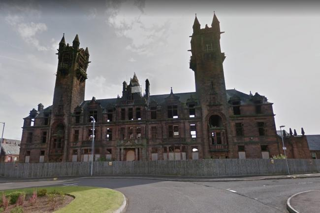 Gartloch Hospital, a former mental health facility in the east end. Google Maps.