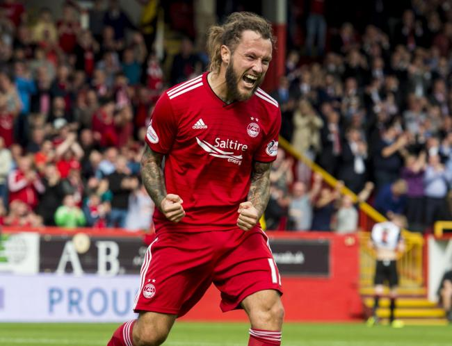 Liam Craig would like Stevie May to re-sign for St Johnstone PHOTO: SNS