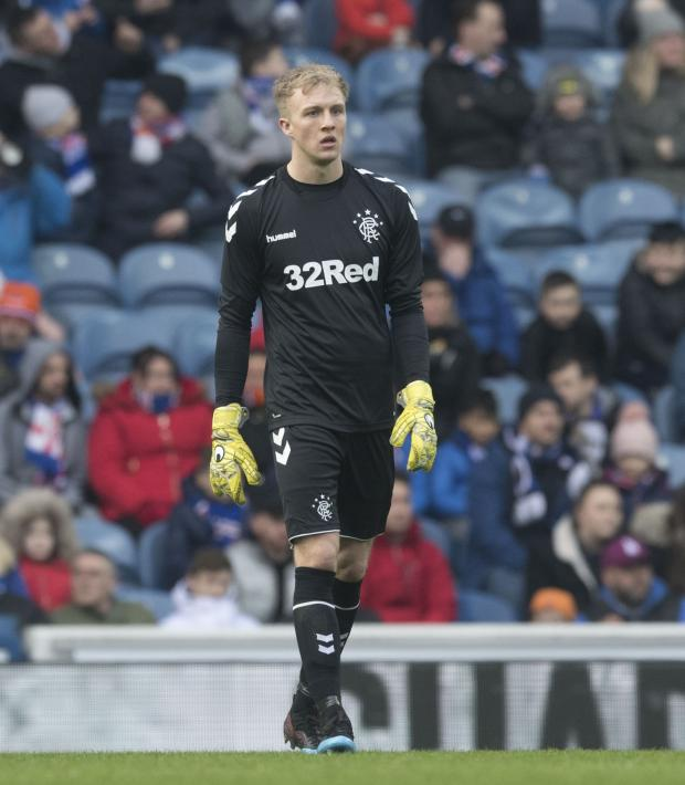 Evening Times: McCrorie hopes to establish himself at Ibrox
