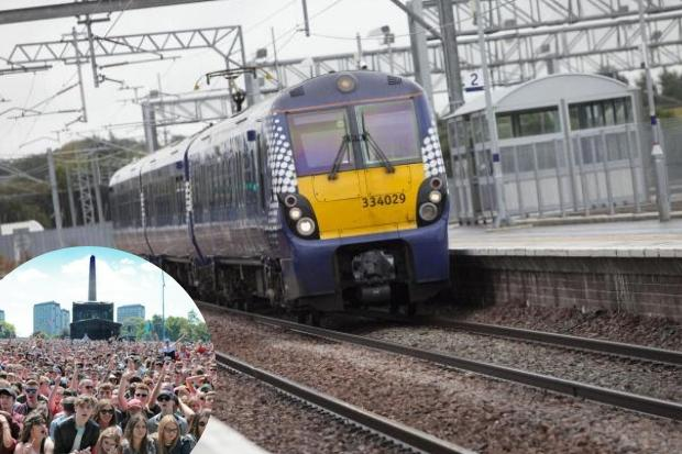 ScotRail release extra seats for TRNSMT music festival