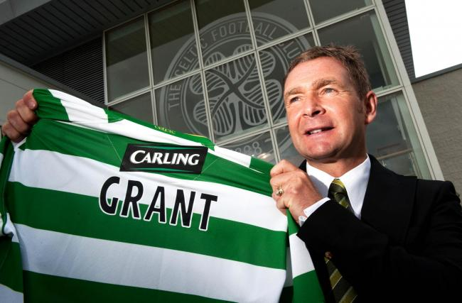Celtic legend Peter Grant to become new Alloa manager