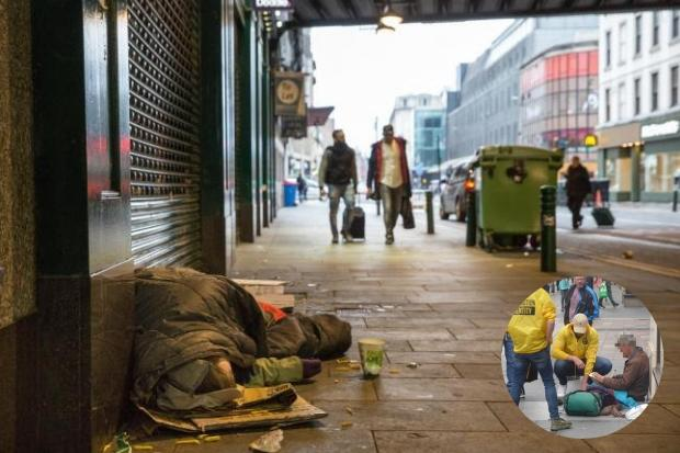 Concerns Generation Identity are targeting rough sleepers
