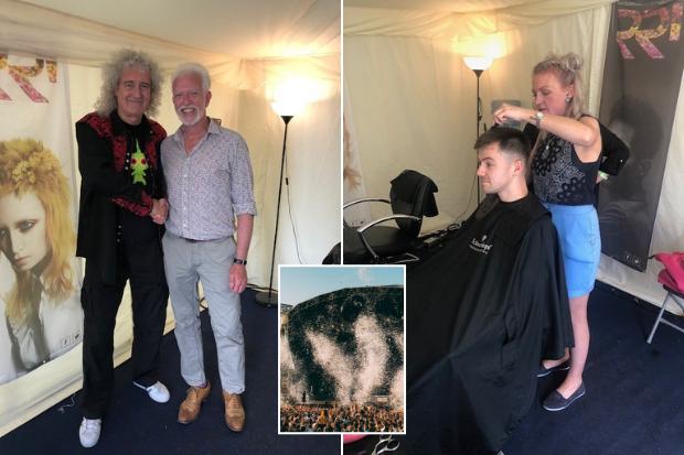 Hair stylist Glasgow's Rainbow Rooms to grace TRNSMT 2019