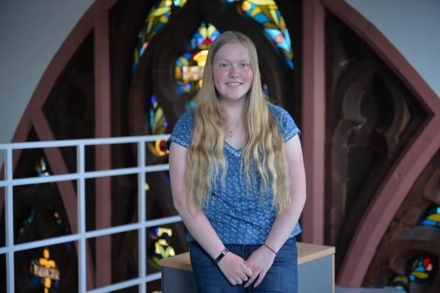 Teen climate activist Erin Curtis goes to Westminster for talks