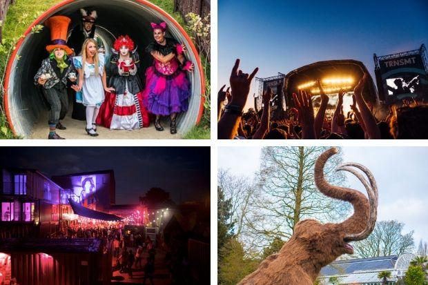 Mad Hatter's Tea Party, TRNSMT, Barras Food Trucks and Ice Age