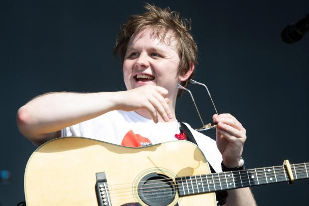 Evening Times: Lewis Capaldi appears to be enjoying the feud