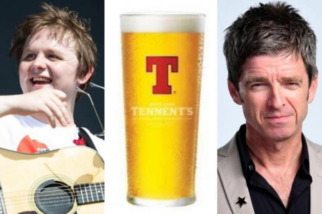 Tennent's takes cheeky swipe at Irn-Bru after they 'cancelled' Noel Gallagher