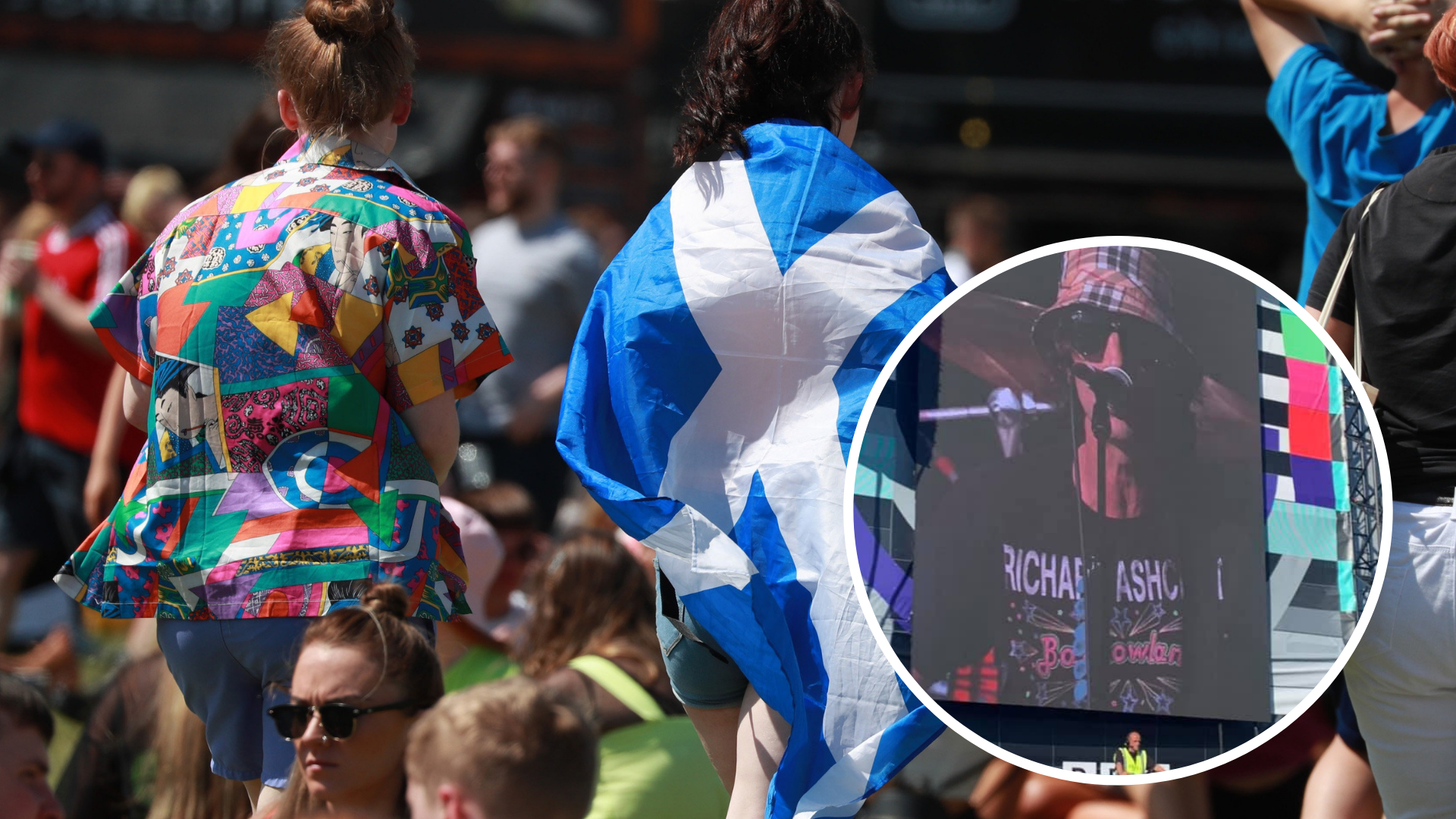 TRNSMT 2019: Richard Ashcroft pays respects to Glasgow music scene with Barrowlands shirt