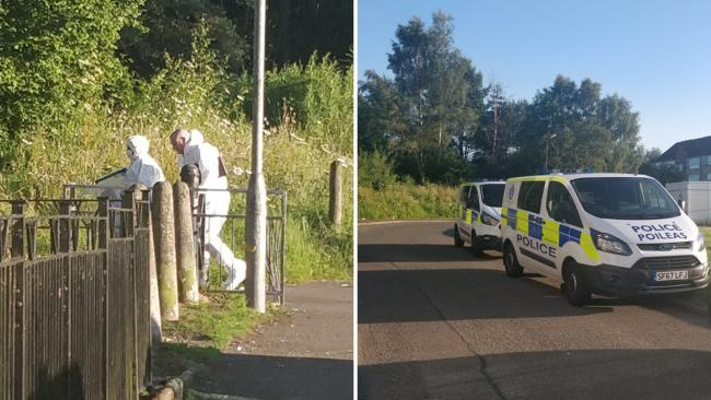 Body of man found in wooded area of north Glasgow