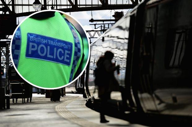 Cops on hunt for man after sexual assault on Glasgow Central train