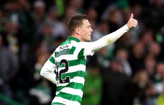Leicester City reportedly made a for Callum McGregor yesterday PHOTO: PA