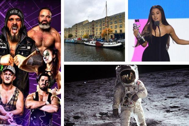 Family Wrestling, Glasgow Canal Festival, Ariana  Grande Days and Moon Landing Celebrations