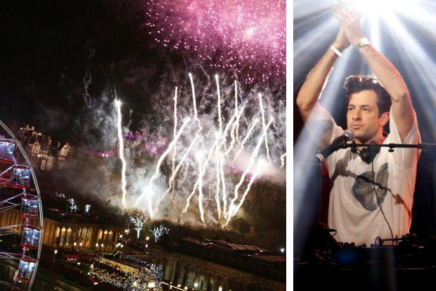 Mark Ronson to headline Hogmanay in Edinburgh