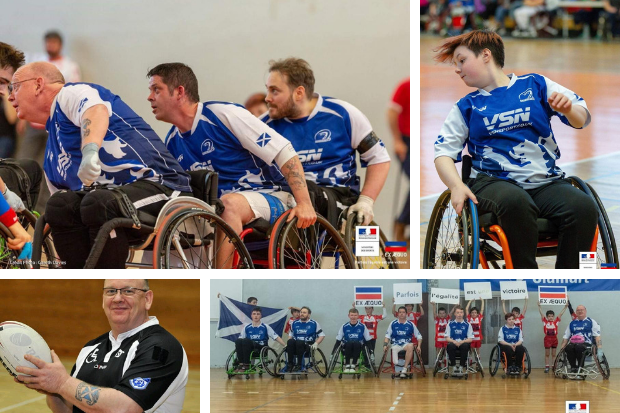 Glasgow Panthers: the East End wheelchair rugby club shining on an international stage