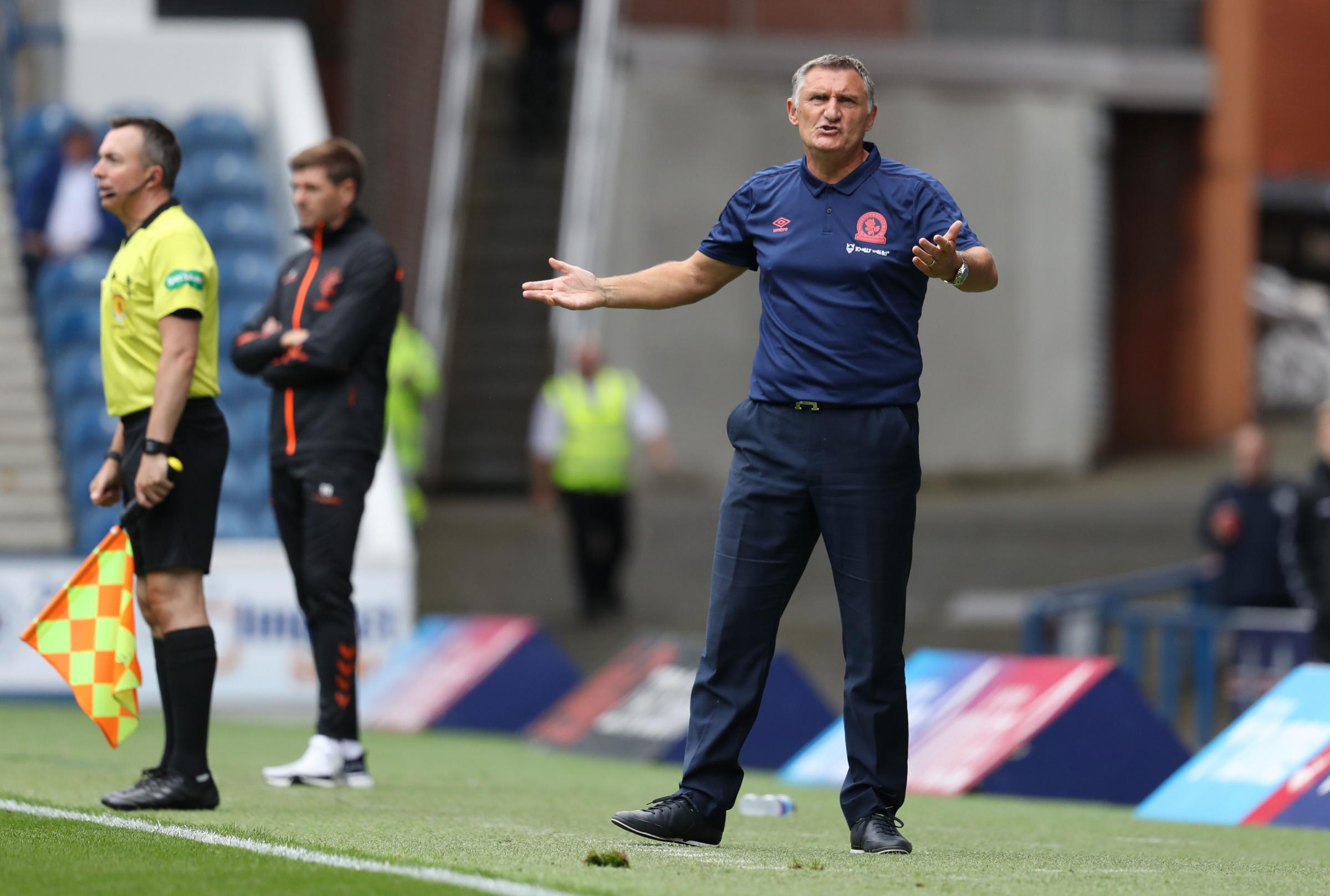 Tony Mowbray reckons there are similarities between Rangers' style and that of Liverpool