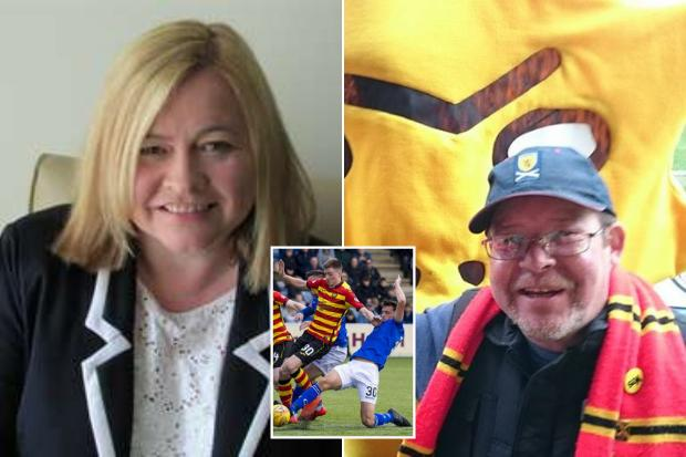 Relieved sister of Partick Thistle fan who collapsed in stands hails striker Lewis Mansell's dad for 'saving brother's life' with CPR