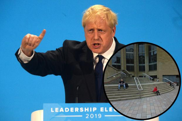 'Not welcome in Scotland': Rally against Boris Johnson planned in Glasgow tonight