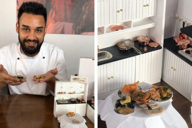 Glasgow restaurant cooks dishes in dollhouse portions to launch new small plates menu