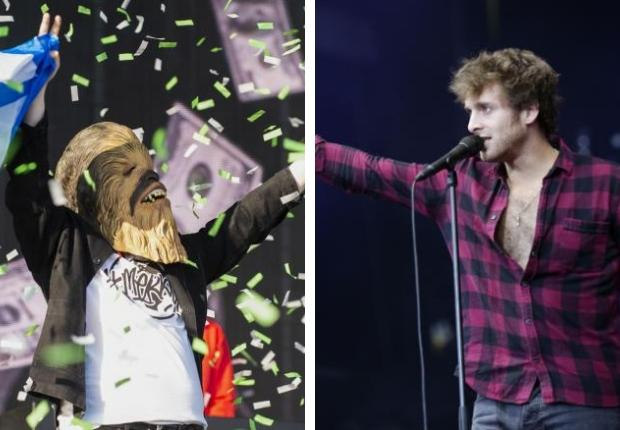 Paolo Nutini buys Chewbacca mask worn by Lewis Capaldi