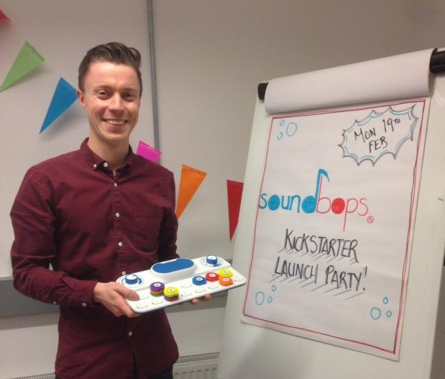 Michael Tougher, founder of Soundbops