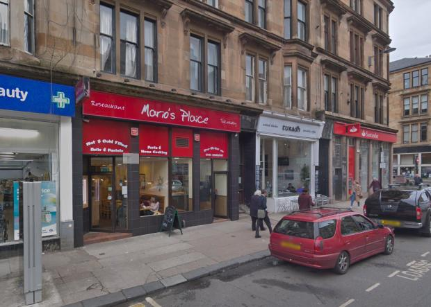 Evening Times: Mario's Plaice on Byres Road