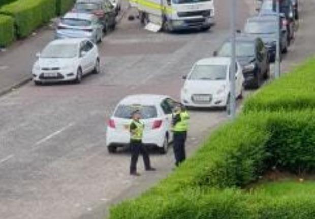 Street sealed of as bomb disposal unit called out   Evening
