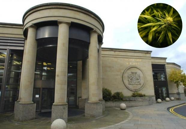 Hou Sheng Yang caught with £300,000 of drugs in Sighthill