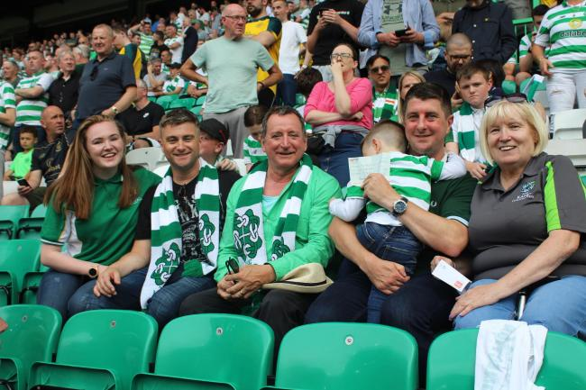 River City actors support charity collection at Celtic Park