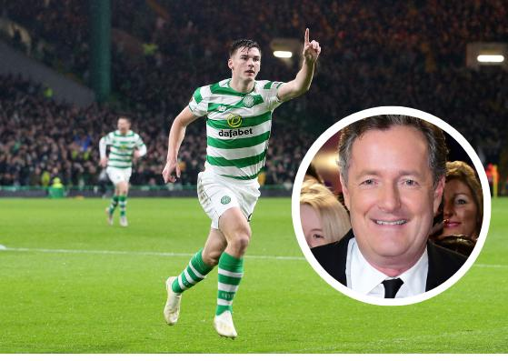 Piers Morgan is looking forward to seeing Kieran Tierney in an Arsenal shirt