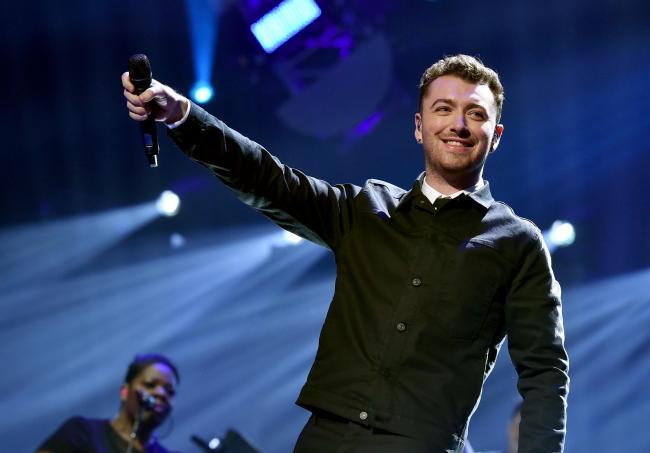Singer Sam Smith enjoys holiday in Scotland