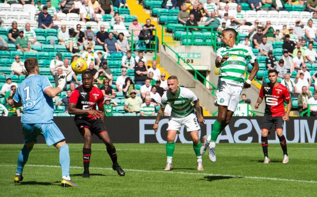 Celtic and Stade Rennais played out a goalless draw in pre-season PHOTO: PA