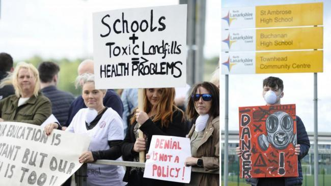 'Blue water' school: Some pupils still unable to return amid Coatbridge health concerns