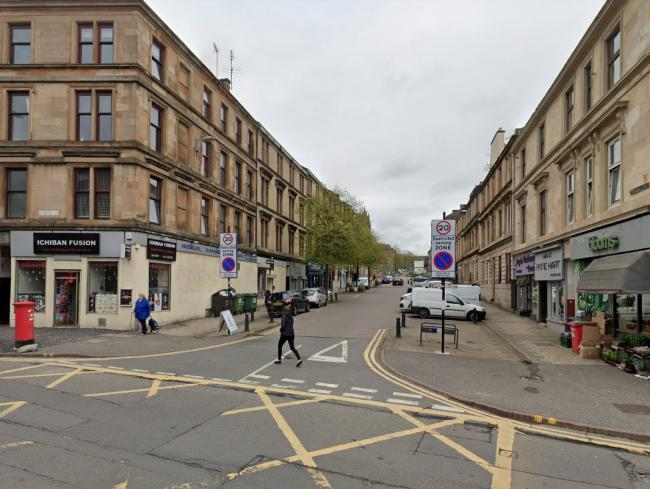 NHS Tayside has launched an investigation after medical records were found dumped on a Glasgow street