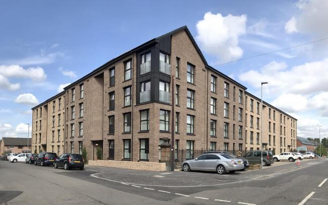 The Lowther Homes development in Batson Street, Govanhill