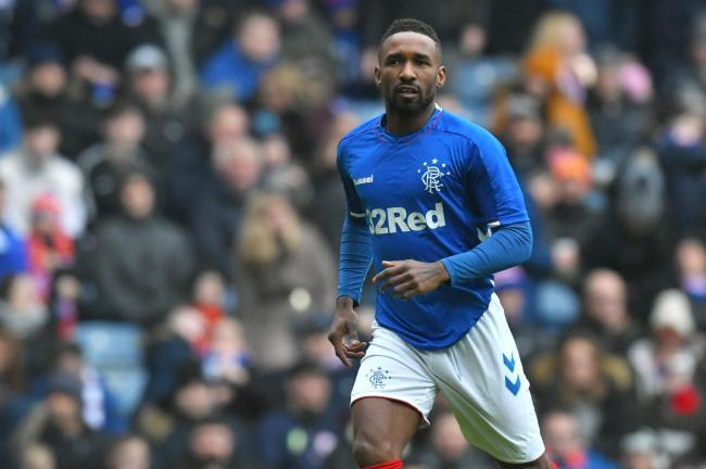 Rangers star Jermain Defoe dines out in West End Restaurant