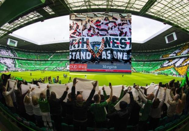 Dunfermline fans start crowdfunder to unveil tifo at Celtic Park